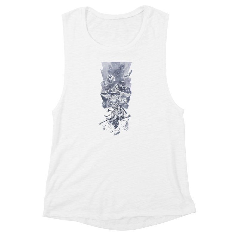 Nepal Women's Muscle Tank by Mattias Lundblad