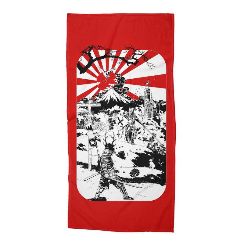 10th Crusade Accessories Beach Towel by Mattias Lundblad