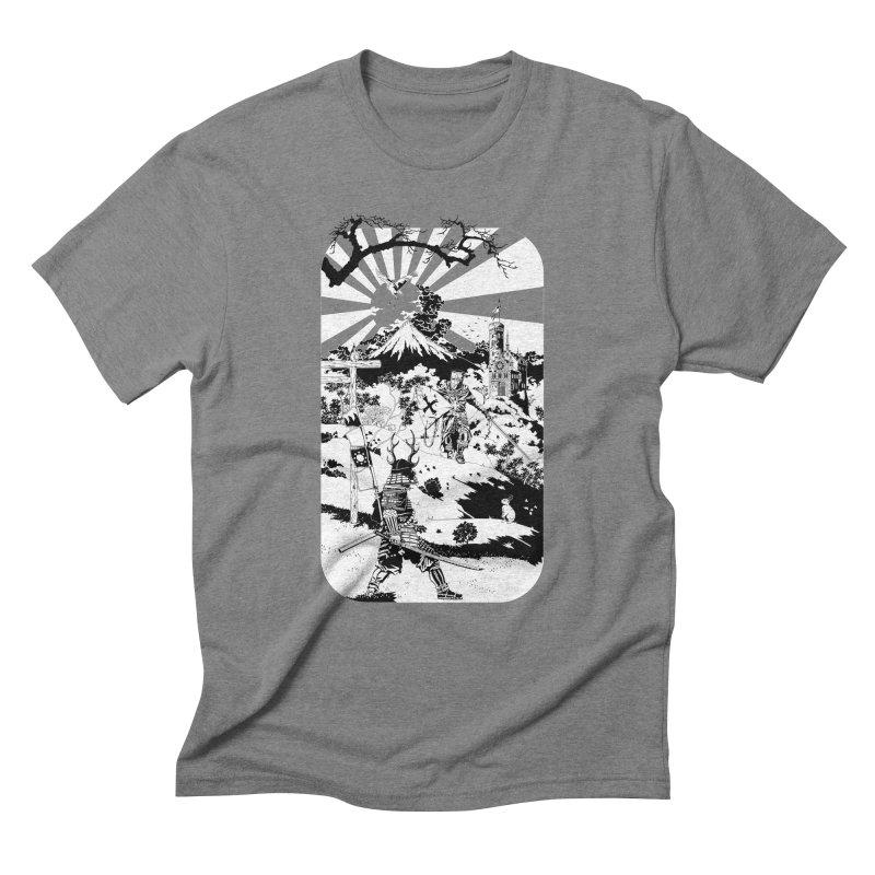 10th Crusade Men's Triblend T-Shirt by Mattias Lundblad