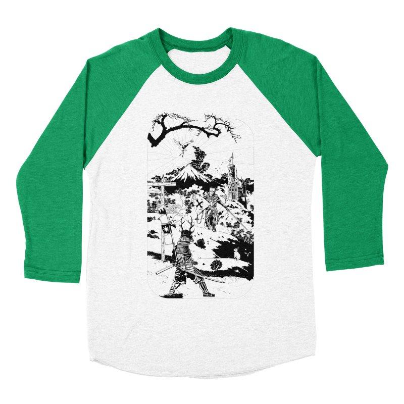 10th Crusade Women's Baseball Triblend T-Shirt by Mattias Lundblad