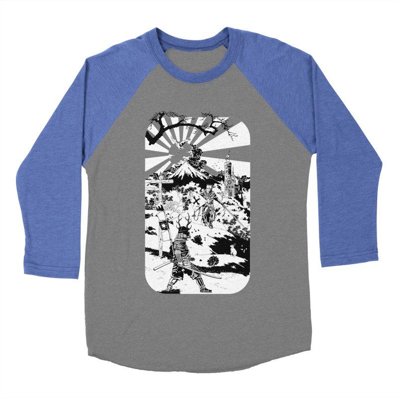 10th Crusade Men's Baseball Triblend T-Shirt by Mattias Lundblad