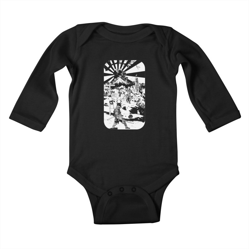 10th Crusade Kids Baby Longsleeve Bodysuit by Mattias Lundblad