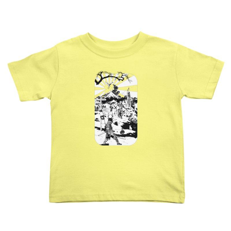 10th Crusade Kids Toddler T-Shirt by Mattias Lundblad