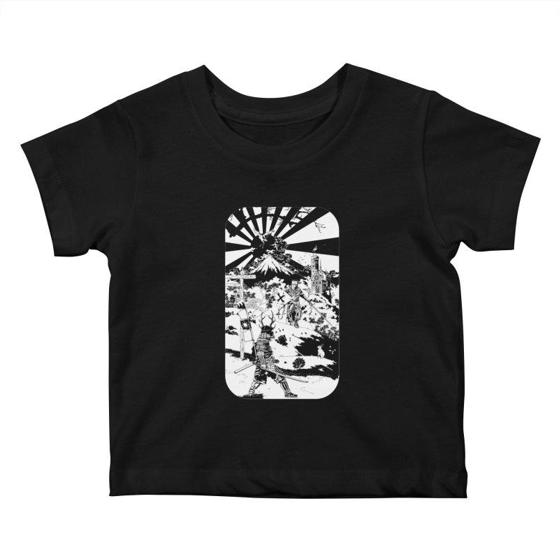 10th Crusade Kids Baby T-Shirt by Mattias Lundblad