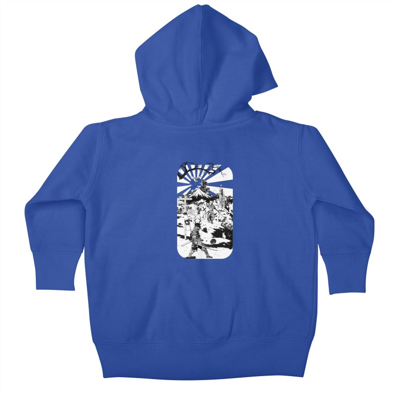 10th Crusade Kids Baby Zip-Up Hoody by Mattias Lundblad