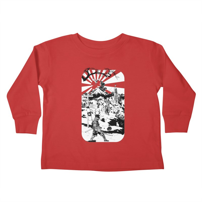 10th Crusade Kids Toddler Longsleeve T-Shirt by Mattias Lundblad