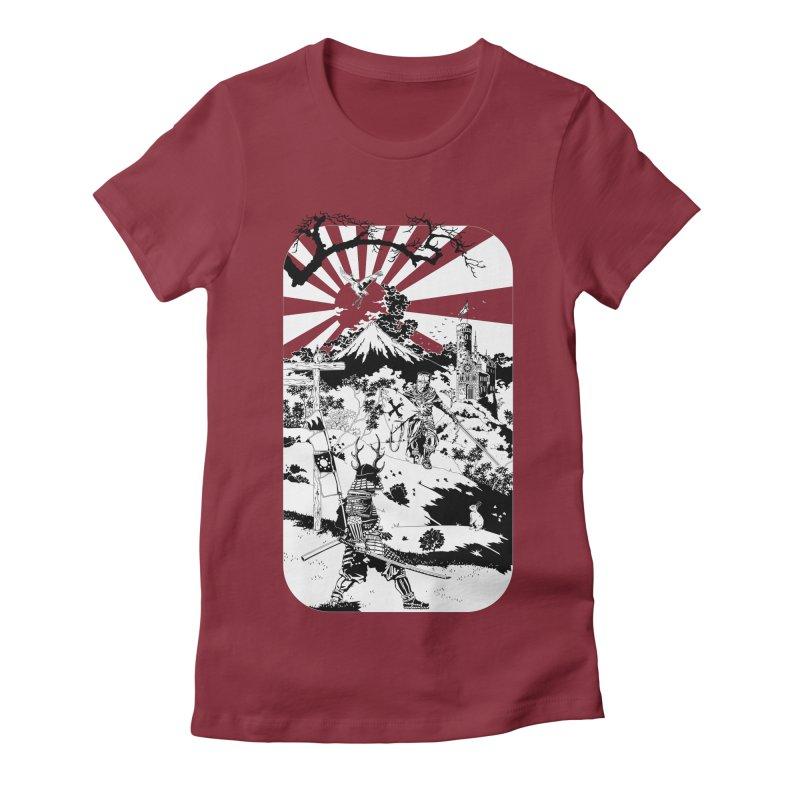 10th Crusade Women's Fitted T-Shirt by Mattias Lundblad