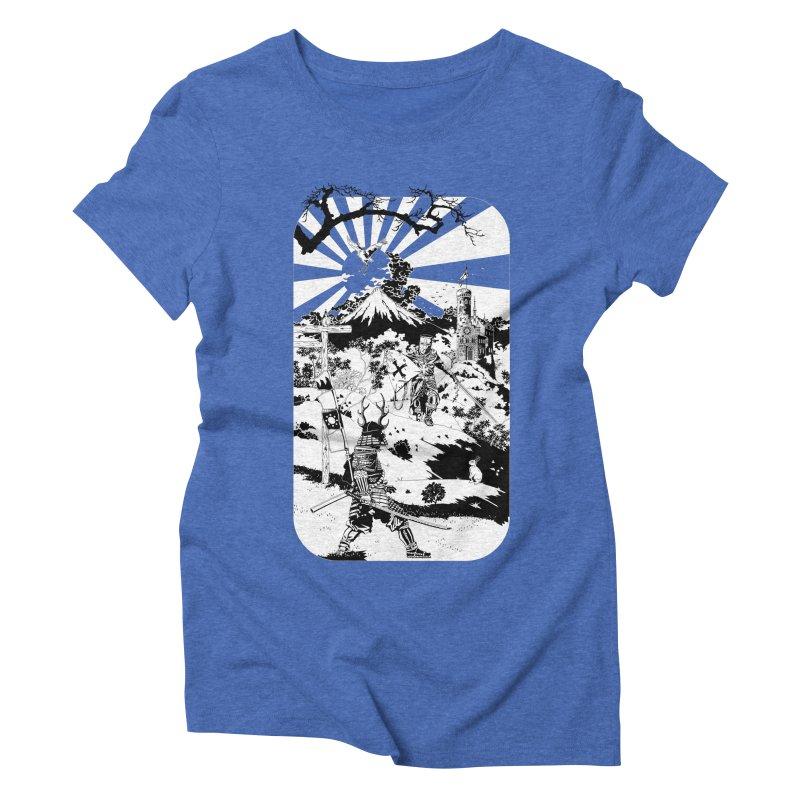 10th Crusade Women's Triblend T-shirt by Mattias Lundblad