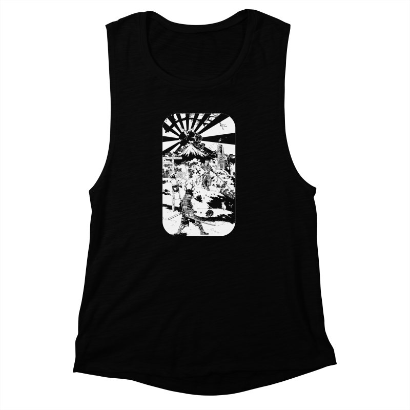 10th Crusade Women's Muscle Tank by Mattias Lundblad