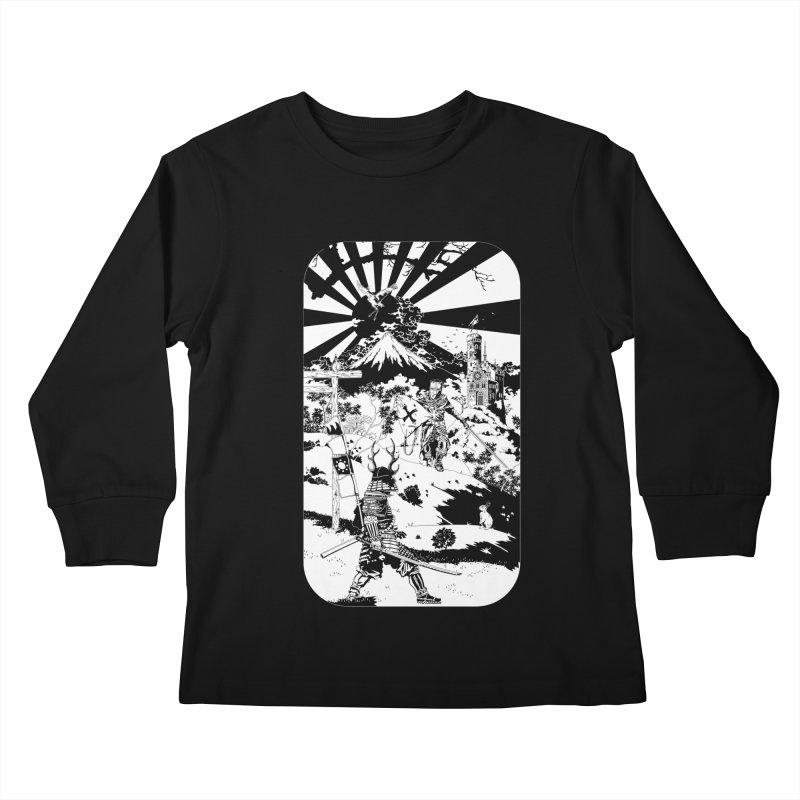 10th Crusade Kids Longsleeve T-Shirt by Mattias Lundblad