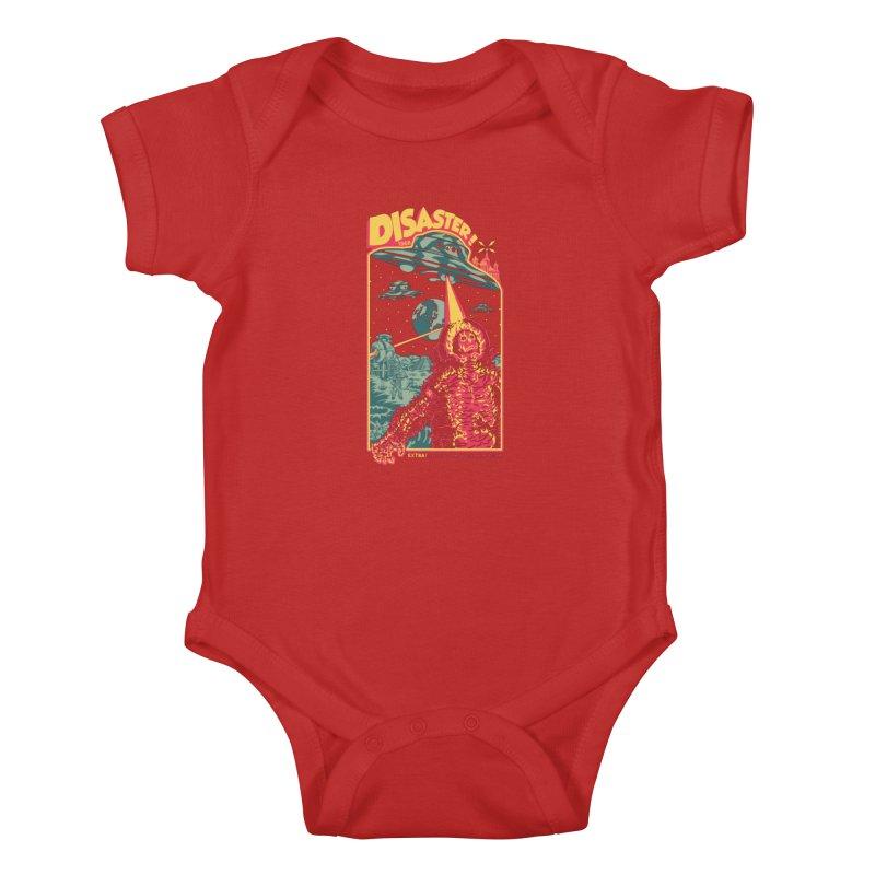 The Politburo Explains Kids Baby Bodysuit by Mattias Lundblad