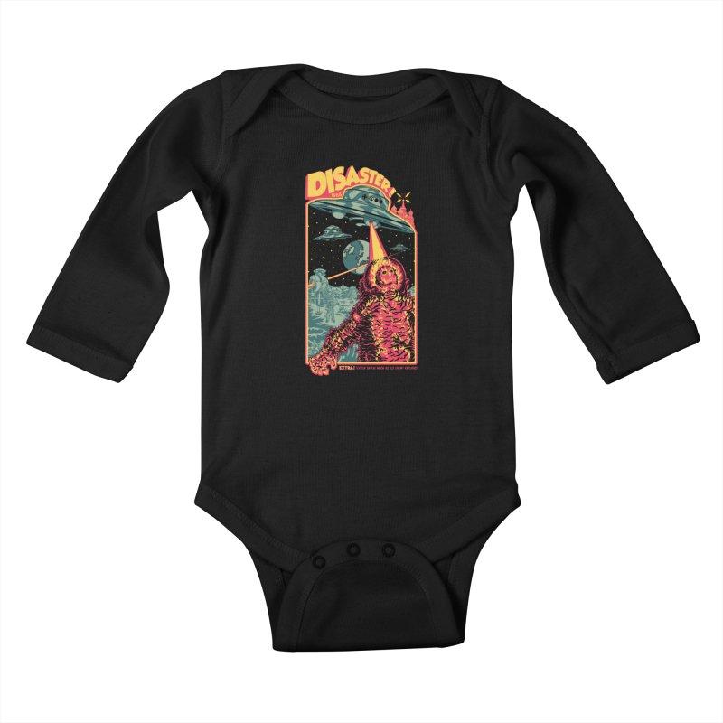 The Politburo Explains Kids Baby Longsleeve Bodysuit by Mattias Lundblad
