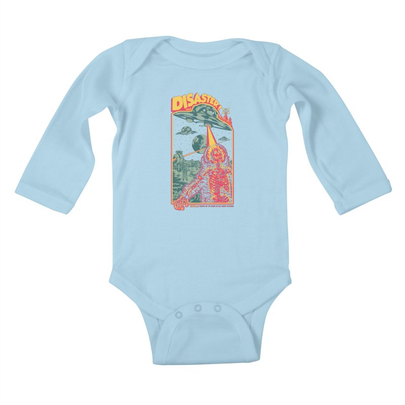 The Politburo Explains Kids Baby Longsleeve Bodysuit by Mattias Lundblad