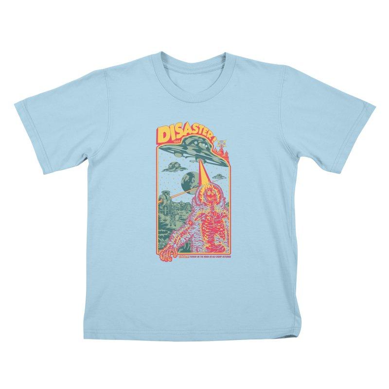 The Politburo Explains Kids T-Shirt by Mattias Lundblad