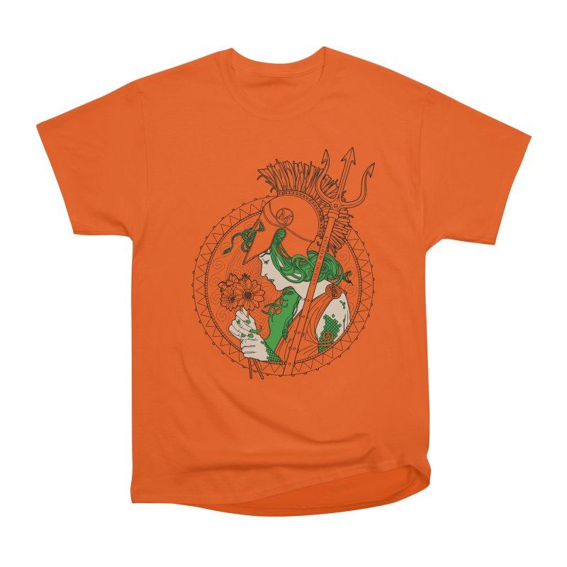Medusa Men's Classic T-Shirt by Mattias Lundblad