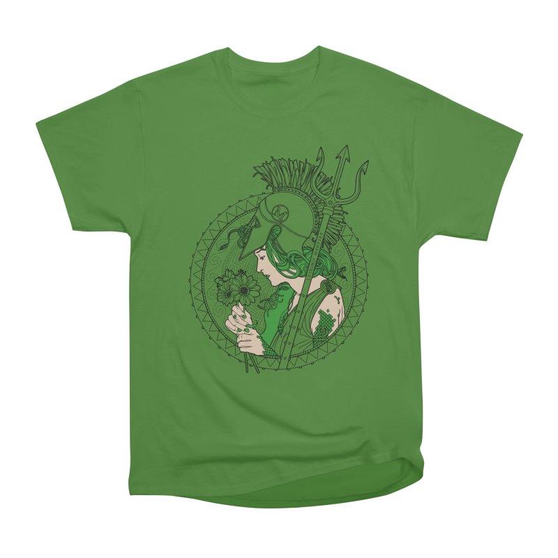 Medusa Women's Classic Unisex T-Shirt by Mattias Lundblad