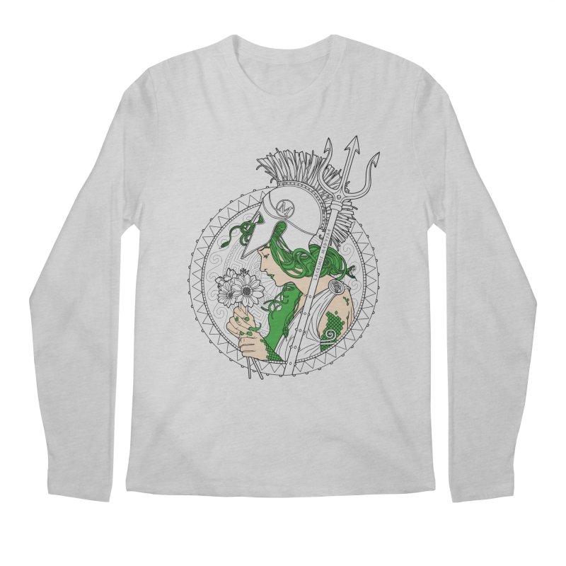 Medusa Men's Longsleeve T-Shirt by Mattias Lundblad