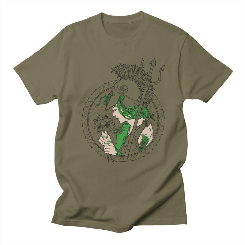 Medusa Men's T-Shirt by Mattias Lundblad