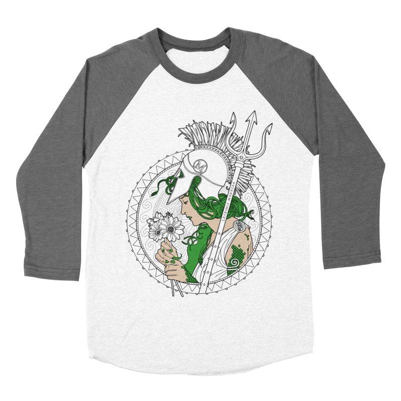 Medusa Men's Baseball Triblend T-Shirt by Mattias Lundblad