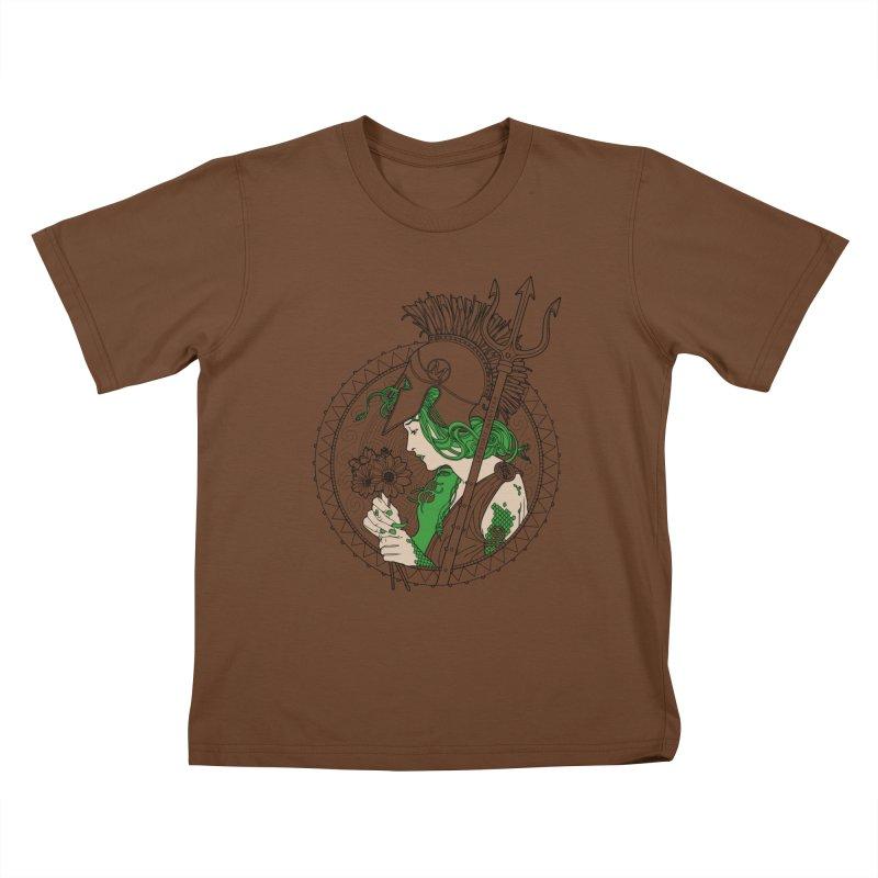 Medusa Kids T-Shirt by Mattias Lundblad