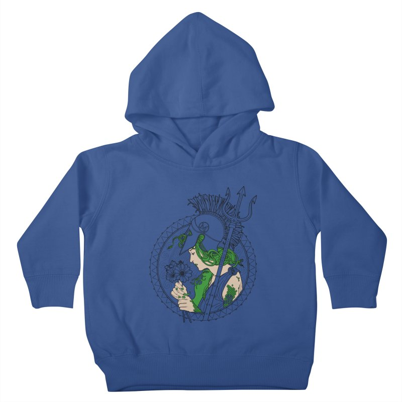 Medusa Kids Toddler Pullover Hoody by Mattias Lundblad