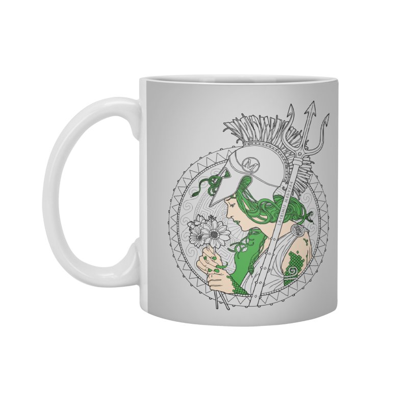 Medusa Accessories Mug by Mattias Lundblad