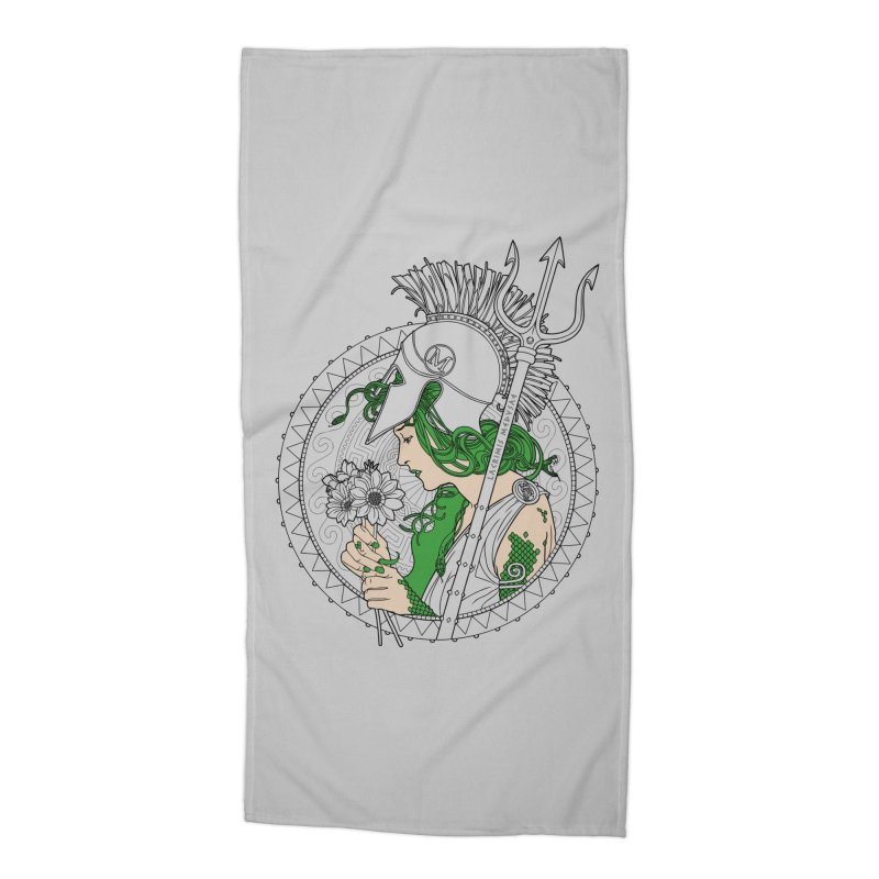 Medusa Accessories Beach Towel by Mattias Lundblad