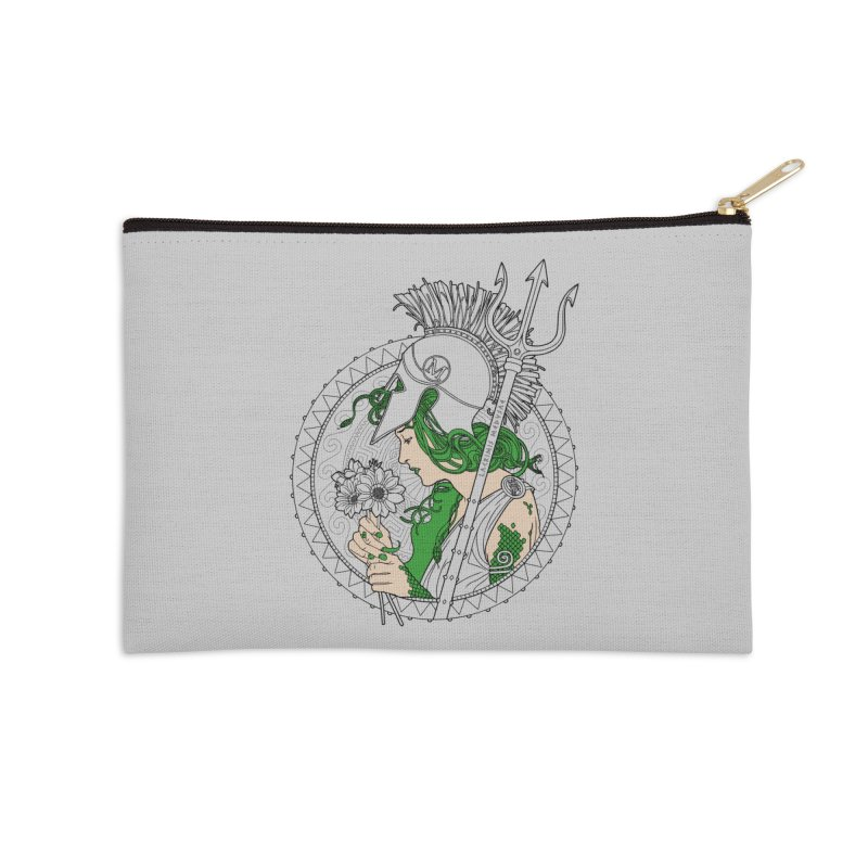 Medusa Accessories Zip Pouch by Mattias Lundblad