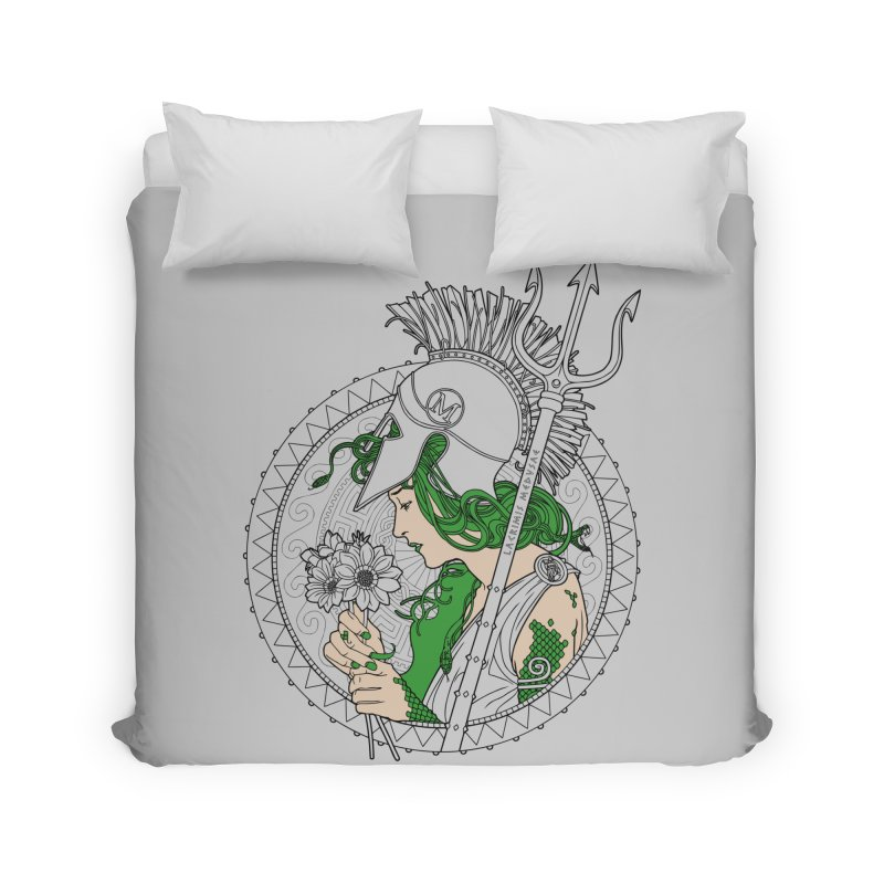 Medusa Home Duvet by Mattias Lundblad