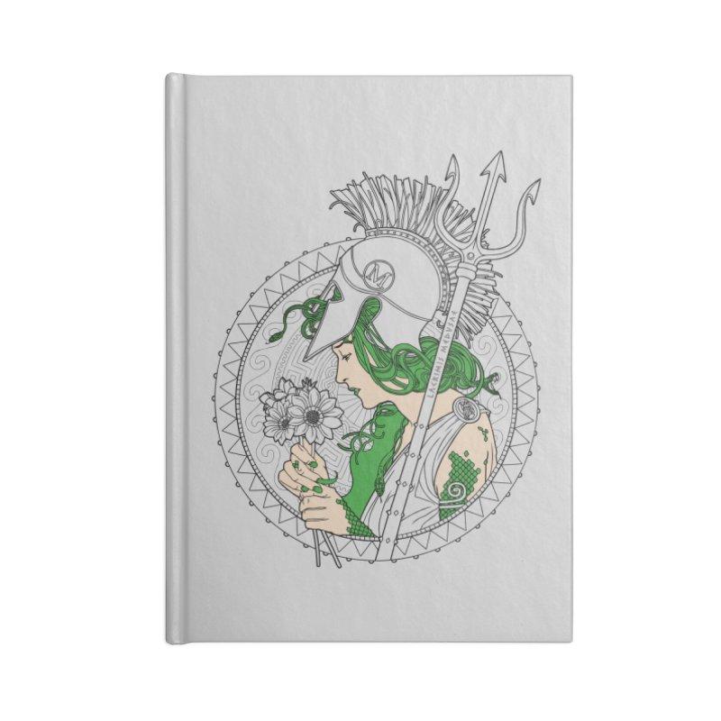 Medusa Accessories Notebook by Mattias Lundblad