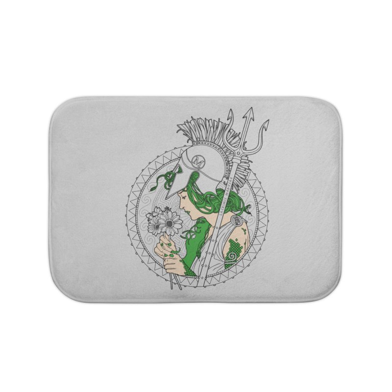 Medusa Home Bath Mat by Mattias Lundblad