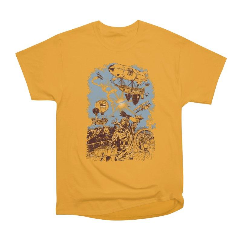 Zeppelin Men's Classic T-Shirt by Mattias Lundblad