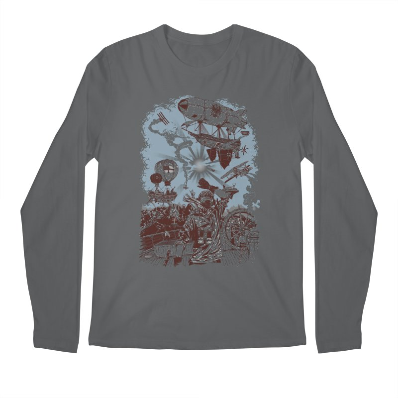 Zeppelin Men's Longsleeve T-Shirt by Mattias Lundblad