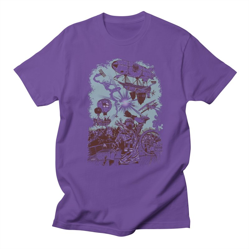 Zeppelin Men's T-Shirt by Mattias Lundblad