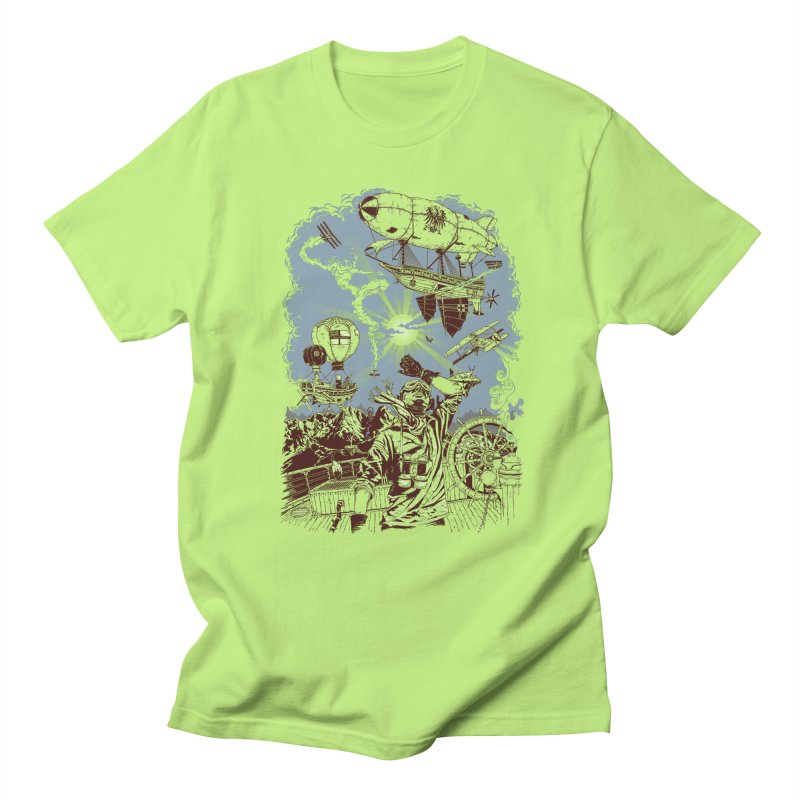 Zeppelin Women's Unisex T-Shirt by Mattias Lundblad