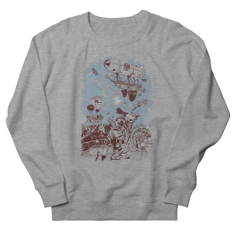 Zeppelin Men's Sweatshirt by Mattias Lundblad