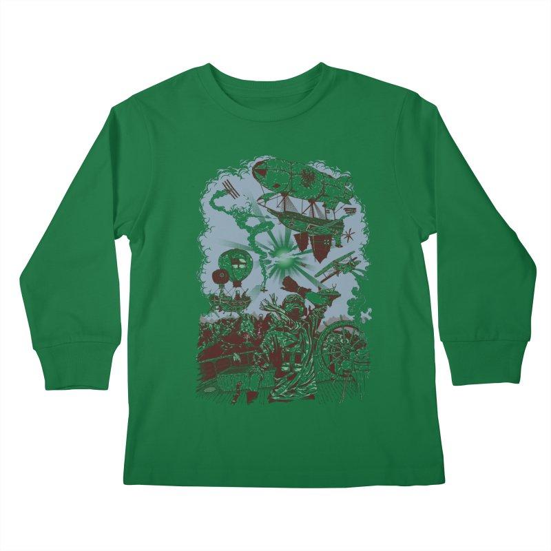 Zeppelin Kids Longsleeve T-Shirt by Mattias Lundblad