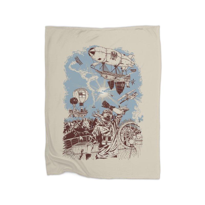 Zeppelin Home Blanket by Mattias Lundblad
