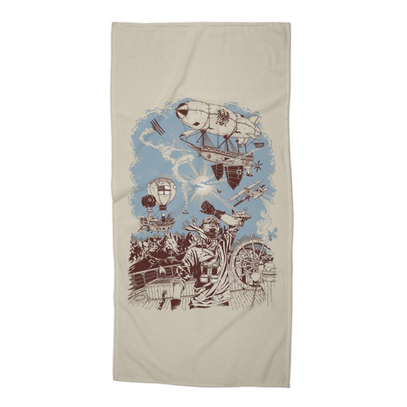 Zeppelin Accessories Beach Towel by Mattias Lundblad