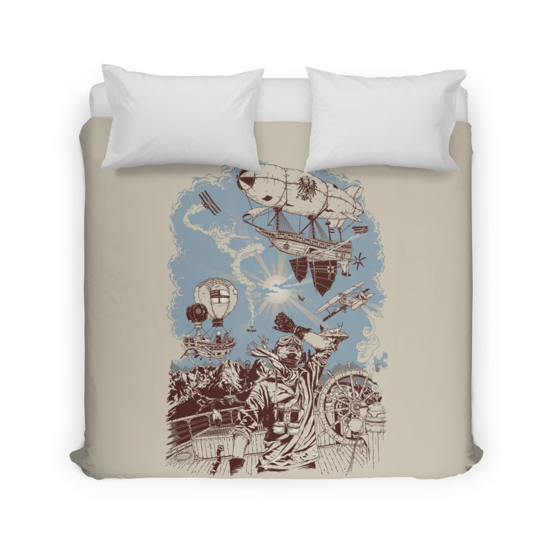 Zeppelin Home Duvet by Mattias Lundblad