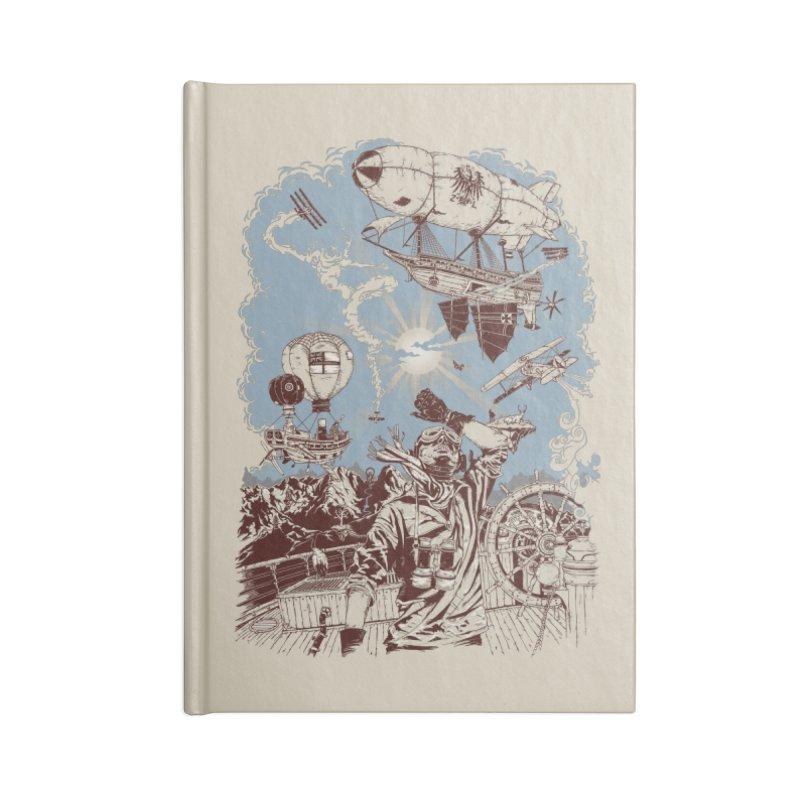 Zeppelin Accessories Notebook by Mattias Lundblad