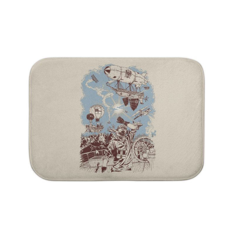 Zeppelin Home Bath Mat by Mattias Lundblad