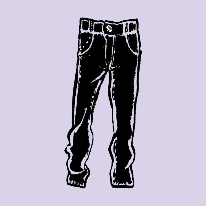 Dark Pants Kids T-Shirt by Matt MacFarland