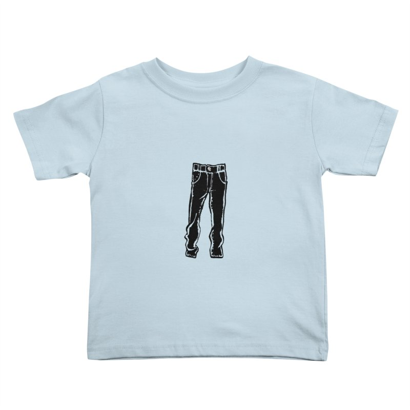 Dark Pants Kids Toddler T-Shirt by Matt MacFarland