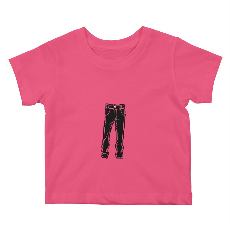 Dark Pants Kids Baby T-Shirt by Matt MacFarland