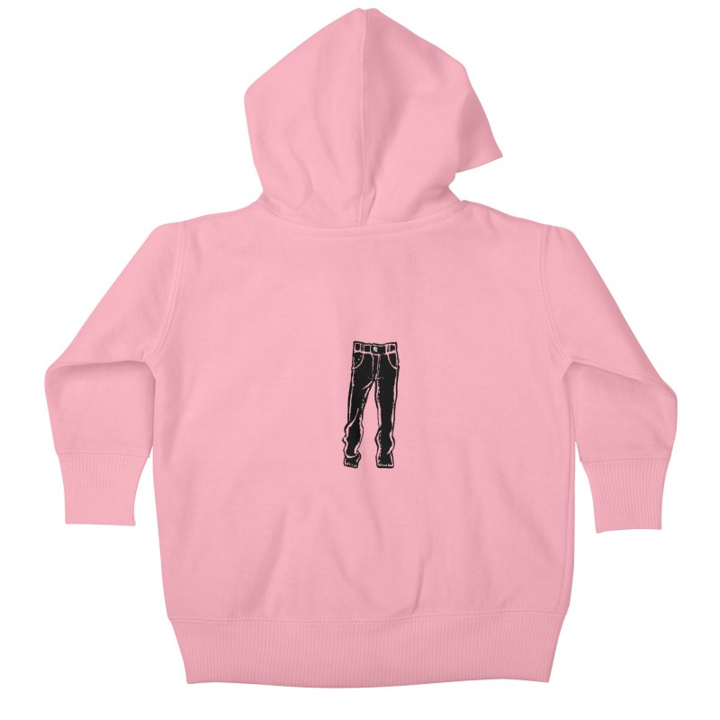 Dark Pants Kids Baby Zip-Up Hoody by Matt MacFarland