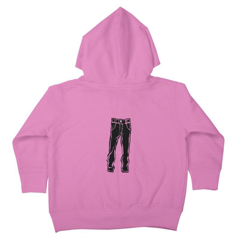 Dark Pants Kids Toddler Zip-Up Hoody by mattiemac's Artist Shop
