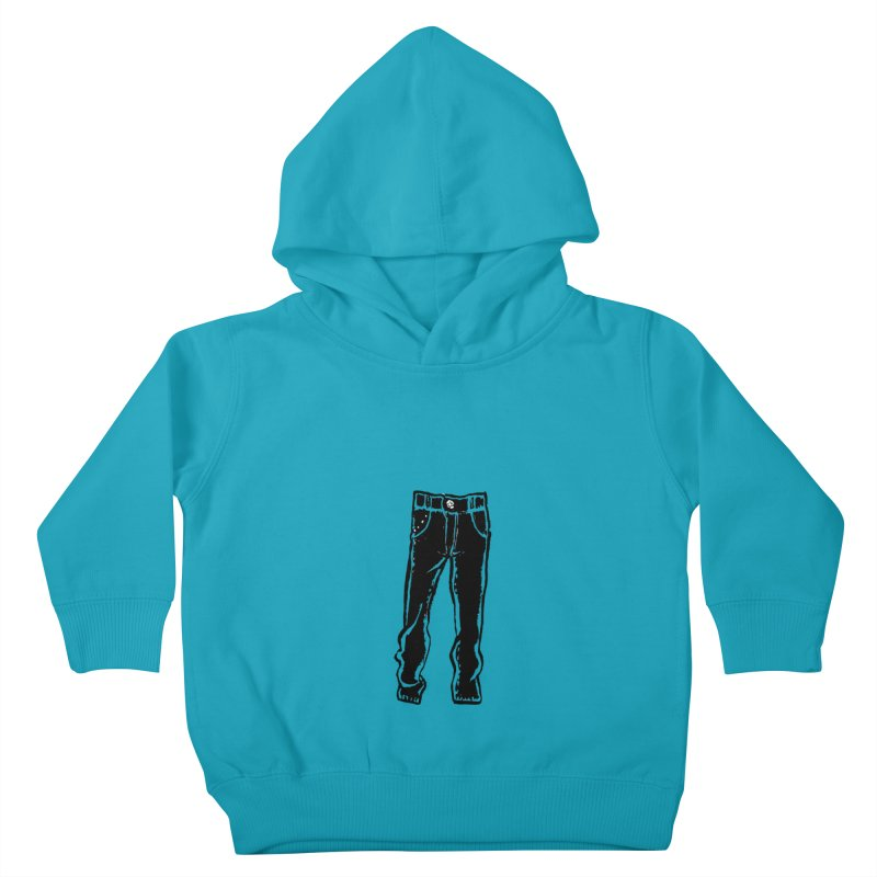 Dark Pants Kids Toddler Pullover Hoody by Matt MacFarland
