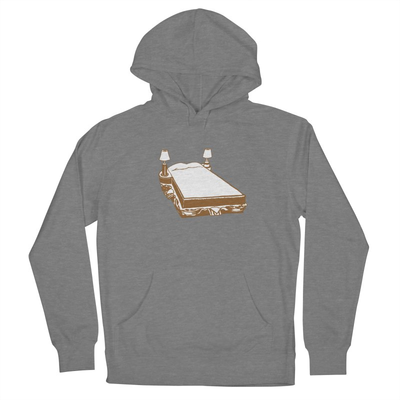 Sandwich Bed Women's Pullover Hoody by Matt MacFarland