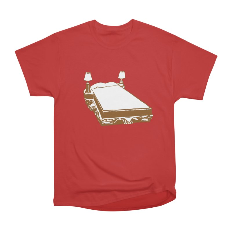 Sandwich Bed Men's Heavyweight T-Shirt by mattiemac's Artist Shop